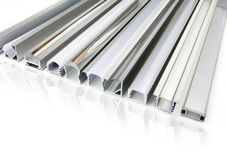 Barras y perfiles de aluminio